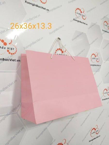 Túi giấy Krap Nhật 1 màu 36*26*13.5