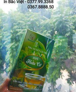 Xưởng in hộp trà uy tín tại Hà Nội