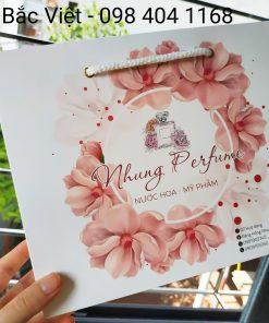 Túi giấy - túi xách đựng nước hoa cao cấp