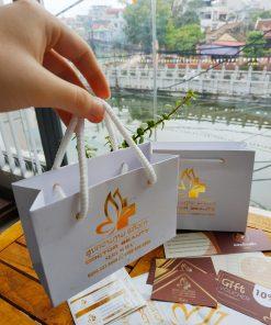 Xưởng in túi giấy ép kim - ép nhũ giá rẻ tại Hà Nội