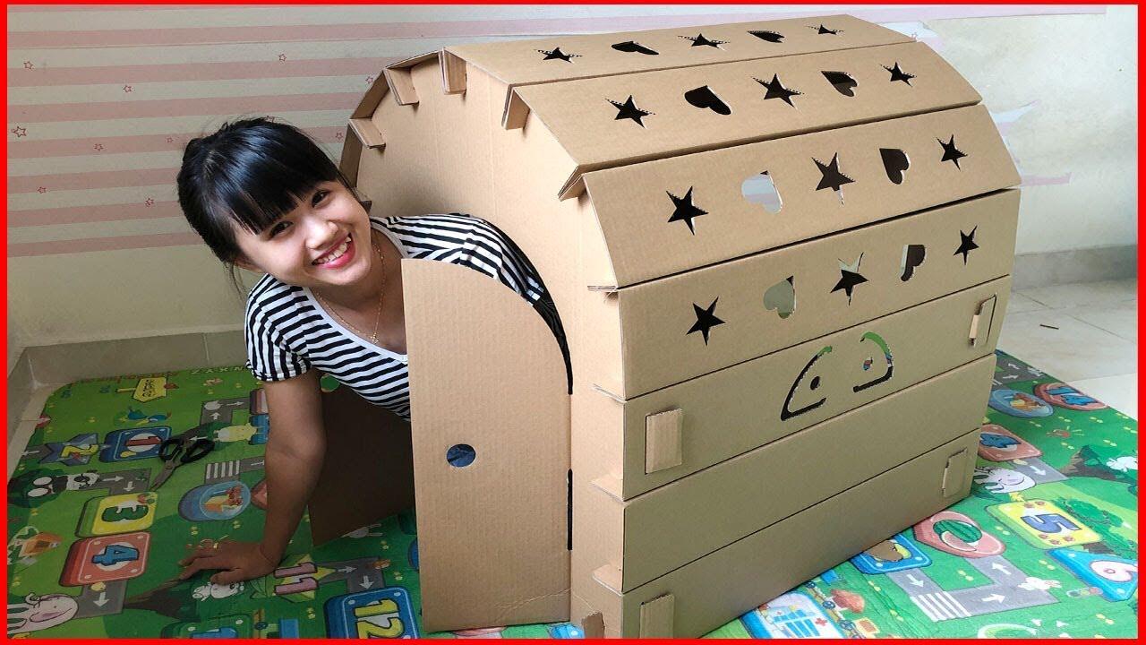 Nhà carton cho bé
