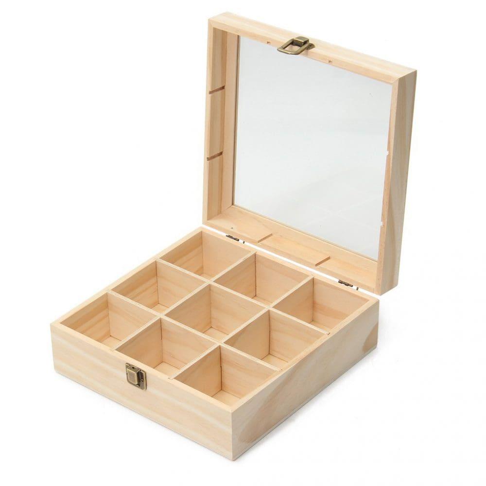 Hộp gỗ chất lượng cao