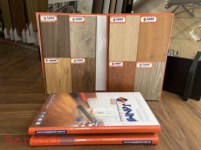 Catalogue sàn gỗ