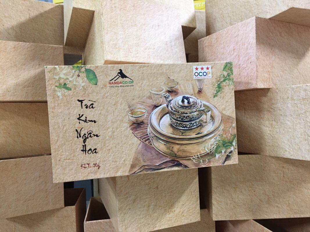 Hộp cứng đựng trà đẹp