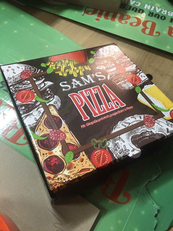 Hộp pizza đẹp